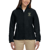 Harriton Ladies 8 oz. Full-Zip Fleece